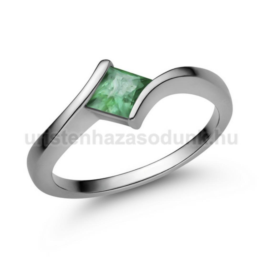 E202FS - SMARAGD Eljegyzési gyűrű