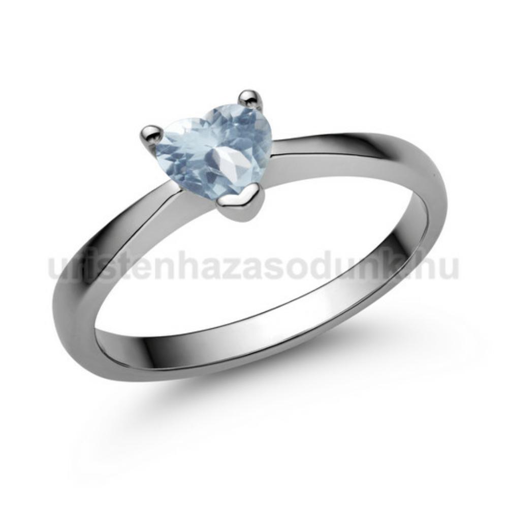 E203FK - AKVAMARIN Eljegyzési gyűrű