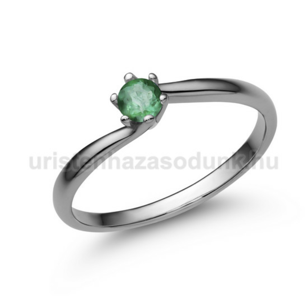 E209FS - SMARAGD Eljegyzési gyűrű