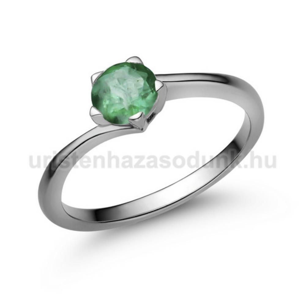 E214FS - SMARAGD Eljegyzési gyűrű