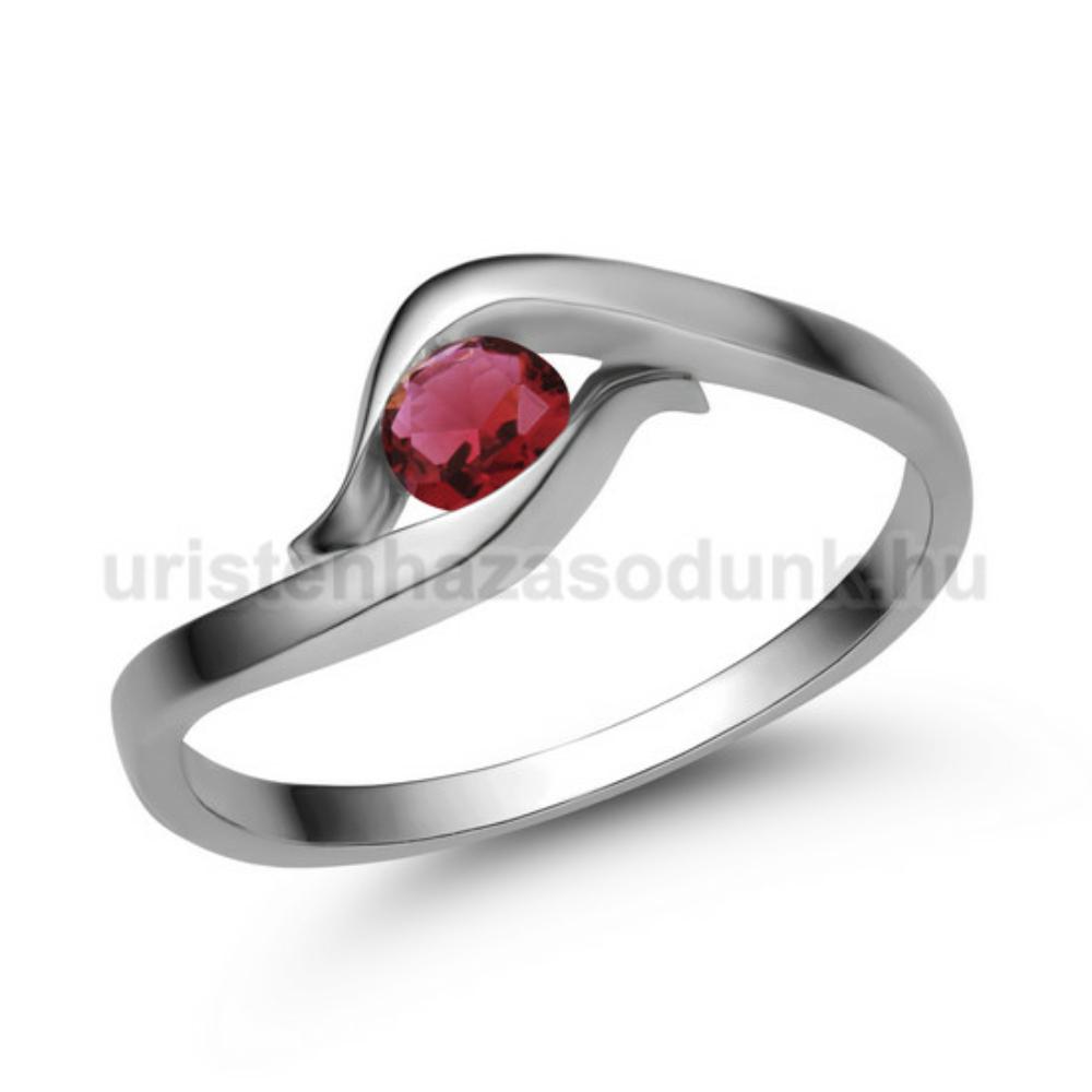 E326FR - RUBIN Eljegyzési gyűrű