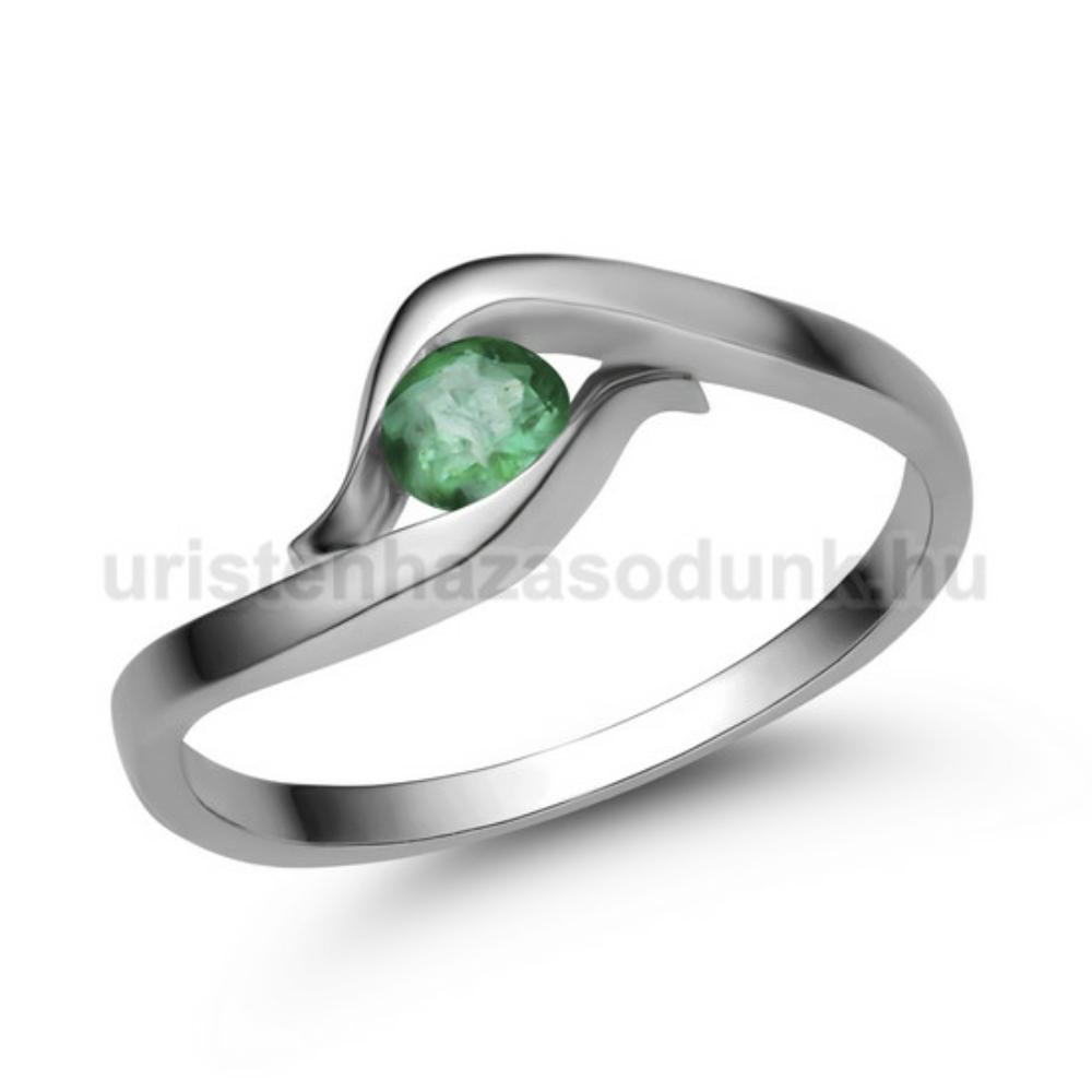 E326FS - SMARAGD Eljegyzési gyűrű