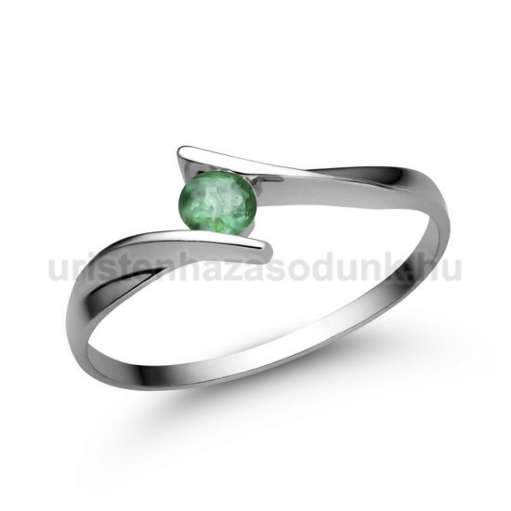 E333FS - SMARAGD Eljegyzési gyűrű