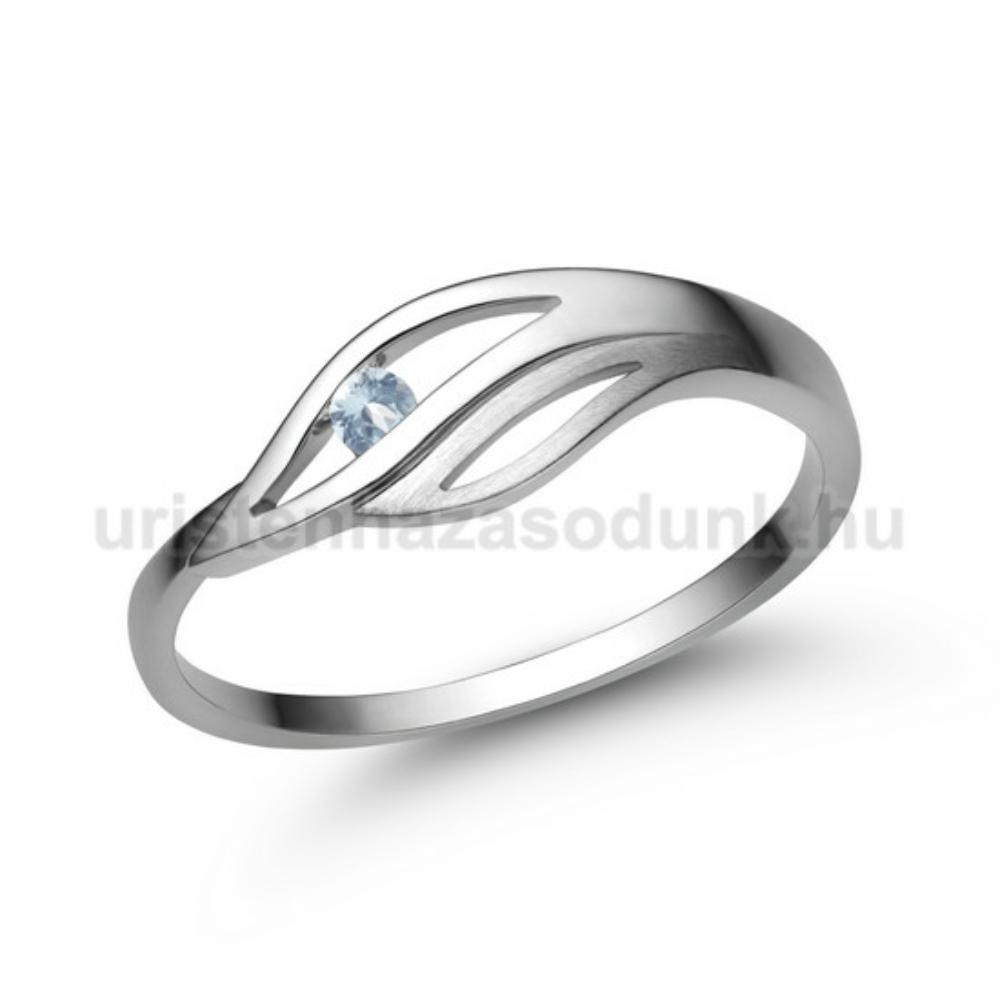 E335FK - AKVAMARIN Eljegyzési gyűrű
