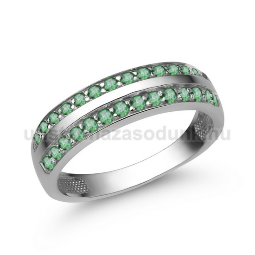 E341FS - SMARAGD Eljegyzési gyűrű