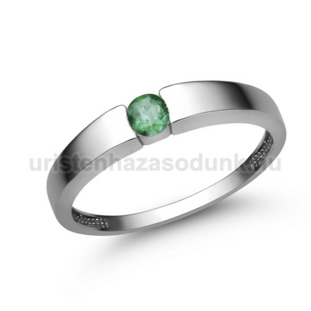 E345FS - SMARAGD Eljegyzési gyűrű