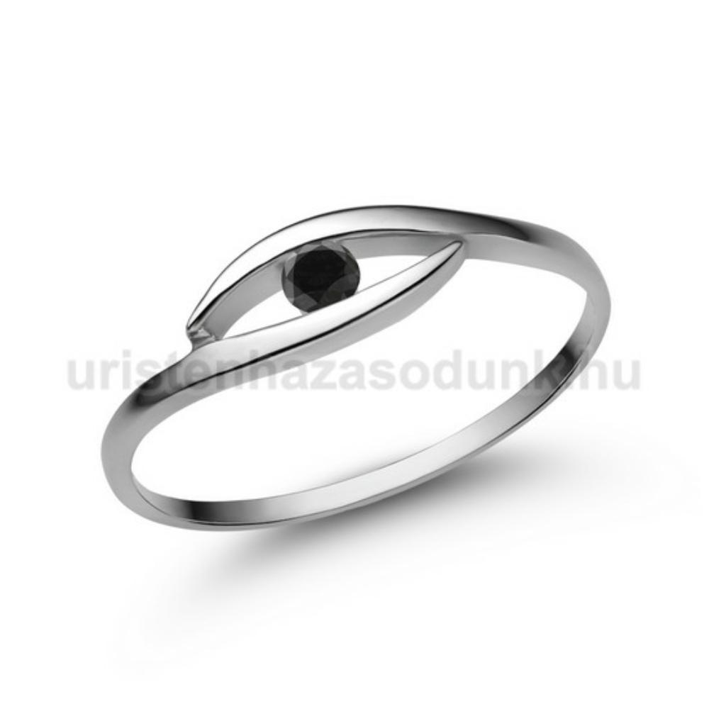 E355FBB - FEKETE GYÉMÁNT - Eljegyzési gyűrű