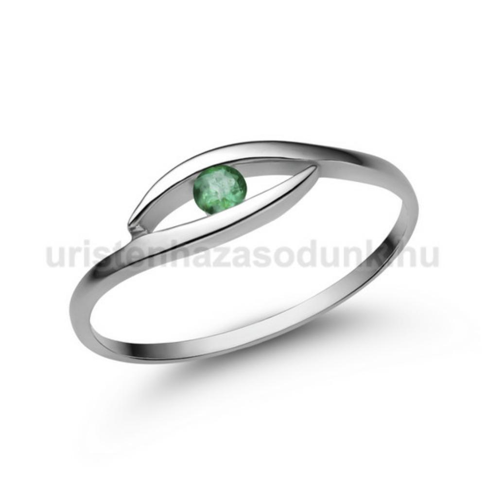 E355FS - SMARAGD Eljegyzési gyűrű