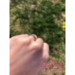 E102FZK - KÉK ZAFÍR  köves fehér arany Eljegyzési Gyűrű
