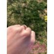 E102FC - CIRKÓNIA köves fehér arany Eljegyzési Gyűrű