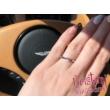 E102FM - AMETISZT  köves fehér arany Eljegyzési Gyűrű