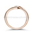 E106RB18 - GYÉMÁNT:  0.18 CT (=3.6mm Ø) Eljegyzési Gyűrű