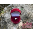 E108RC - CIRKÓNIA köves rozé arany Eljegyzési Gyűrű