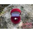 E108FB86 - GYÉMÁNT:  0.86 CT (5.5 mm Ø) Eljegyzési Gyűrű