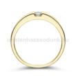 E10SB10 - GYÉMÁNT:  0.10 CT (=2.9mm Ø) Eljegyzési Gyűrű