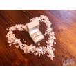 E112FZK - KÉK ZAFÍR  köves fehér arany Eljegyzési Gyűrű