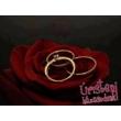 E1RC - CIRKÓNIA köves rozé arany Eljegyzési Gyűrű