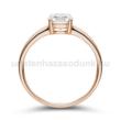 E24RB70 - GYÉMÁNT:  0.70 CT (=5.5mm Ø) Eljegyzési Gyűrű