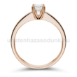 E25RB28 - GYÉMÁNT:  0.28 CT (=4.15mm Ø) Eljegyzési Gyűrű