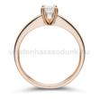 E25RB35 - GYÉMÁNT:  0.35 CT (=4.5mm Ø) Eljegyzési Gyűrű