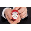 E301SB30 - GYÉMÁNT: 0.30 CT (3.7mm Ø) Eljegyzési Gyűrű