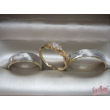E301RC - CIRKÓNIA köves rozé arany Eljegyzési Gyűrű