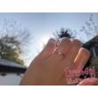 E309SB16 - GYÉMÁNT:  0.16 CT (=3.5mm Ø) Eljegyzési Gyűrű