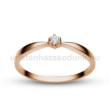 E30RB06 - GYÉMÁNT:  0.06 CT (=2.5mm Ø) Eljegyzési Gyűrű