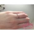 E30RC - CIRKÓNIA köves rozé arany Eljegyzési Gyűrű