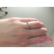 E30FR - RUBIN köves fehér arany Eljegyzési Gyűrű