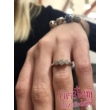 E314FC - CIRKÓNIA köves fehér arany Eljegyzési Gyűrű