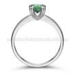 E319FS - SMARAGD Eljegyzési gyűrű