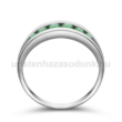 E320FS - SMARAGD Eljegyzési gyűrű
