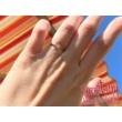 E333FC - CIRKÓNIA köves fehér arany Eljegyzési Gyűrű
