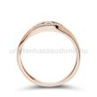 E337RB15 - GYÉMÁNT:  0.15 CT (2.75mm Ø) Eljegyzési Gyűrű