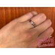 E337FC - CIRKÓNIA köves fehér arany Eljegyzési Gyűrű