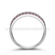 E341FR - RUBIN Eljegyzési gyűrű