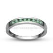 E344FS - SMARAGD Eljegyzési gyűrű
