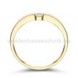 E345SB15 - GYÉMÁNT:  0.15 CT (=3.4mm Ø) Eljegyzési Gyűrű