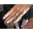 E34RC - CIRKÓNIA köves rozé arany Eljegyzési Gyűrű