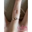 E355FC - CIRKÓNIA köves fehér arany Eljegyzési Gyűrű