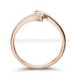 E3RB23 - GYÉMÁNT:  0.23 CT (=3.9mm Ø) Eljegyzési Gyűrű