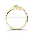 E5SB10 - GYÉMÁNT:  0.10 CT (=2.9mm Ø) Eljegyzési Gyűrű