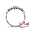 E902FB23- GYÉMÁNT: 0,23ct (=3.50mm Ø) Eljegyzési Gyűrű