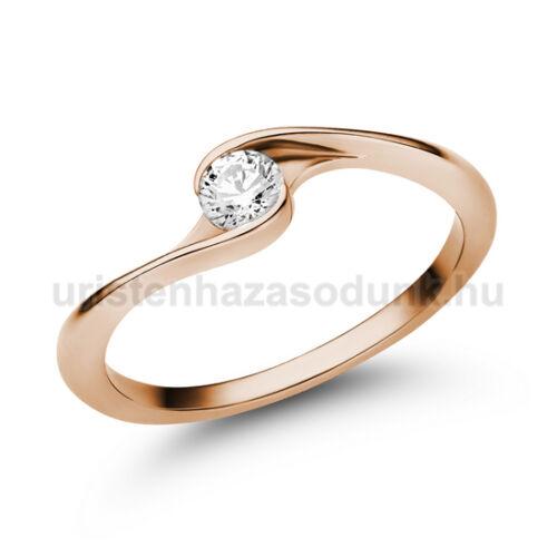 E106RB20 - GYÉMÁNT:  0.20 CT (=3.7mm Ø) Eljegyzési Gyűrű